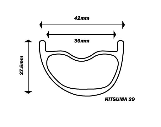 Kitsuma 29 Carbon Fiber Mountain Wheels   Nox Composites